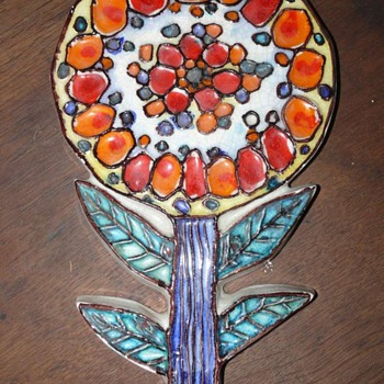 italian flower power - Art Pottery
