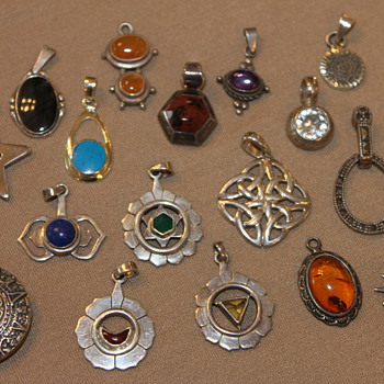 Silver Charm / Pendant Collection - Fine Jewelry