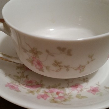 O.P. CO. Syracuse China Teacup & Saucer