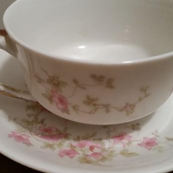 O.P. CO. Syracuse China Teacup & Saucer