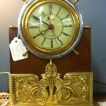 Sessions Art Deco Nautical clock