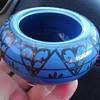 Persian? Pretty antique blue pottery vase