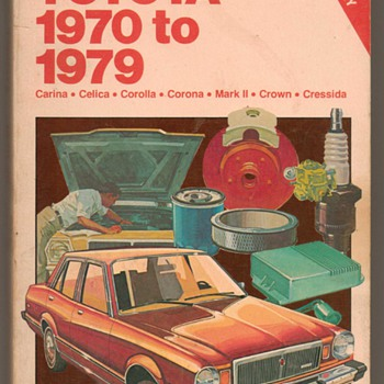 Chilton's Toyota Repair Manual - Classic Cars