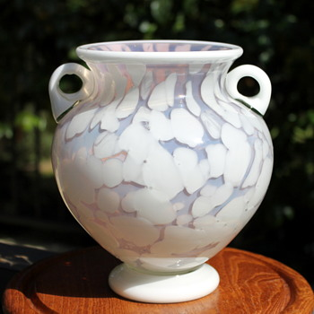 A lovely but unknown vase from Japan - Art Glass