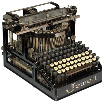 Jewett 1 typewriter - 1892