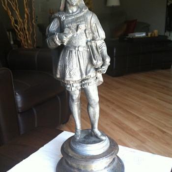 French spanish-American Statue ?