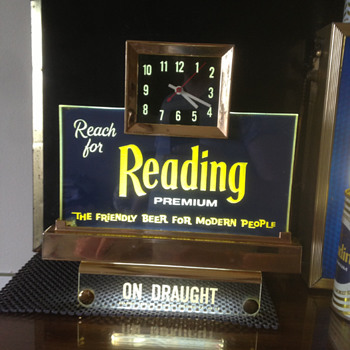 Reading Premium Beer Register Light