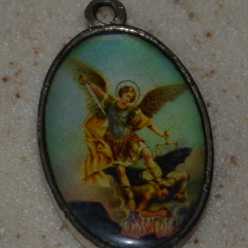 La Virgen de Guadalupe Pendant - well-worn!