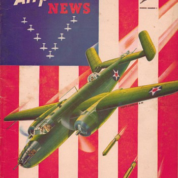 1942 - Model Airplane News magazine - August