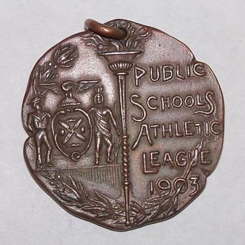 A 1903 Public School athletic League Medal.