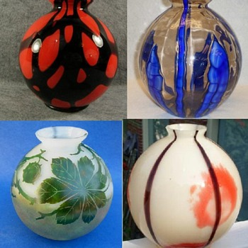 Kralik shapes #4 - Ball shape vases - Art Glass