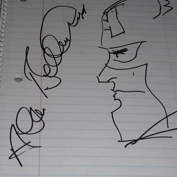 Comic Autographs part 1