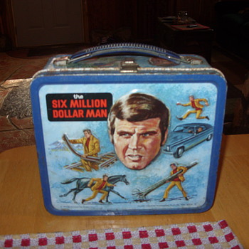 1974 six million dollar man lunch box