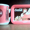Coca Cola cup and Tip Tray