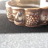 Repoussed sterling months of the year bracelet marked DAVID