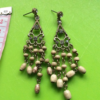 Unusual chandelier earrings