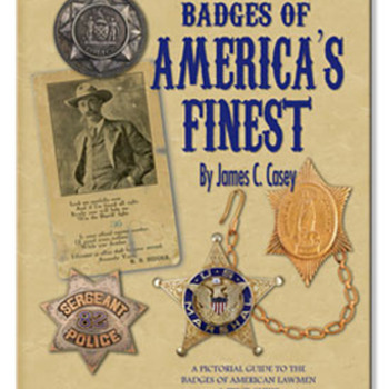Police badge book, great pictures. - Medals Pins and Badges
