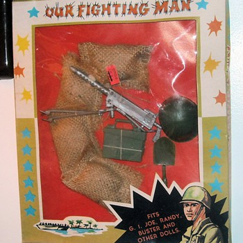 GI Joe Knock Off Set 1960s - Toys