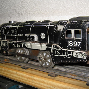 Marx rare 897 wind up - Model Trains