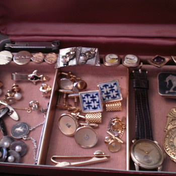 Grandfather's and Great-grandfather's cufflinks etc...  - Accessories