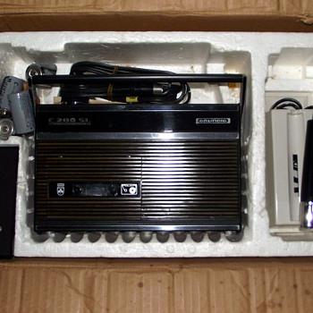 1970-grundig c200sl cassette tape recorder. - Radios