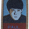 Original 1964 Beatles Folk Art of Paul McCartney