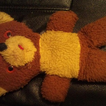 Vintage Plush Teddy Bear - Dolls