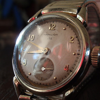 1949 Hamilton Langdon cld - Wristwatches