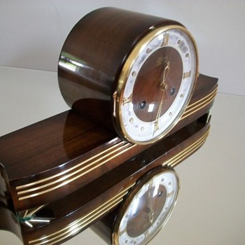 Hermle Mantle Clock, 1935 - 45. - Art Deco