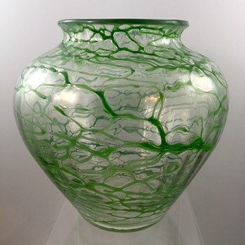 Loetz Deco Era Vase, PN III-132, ca. 1930s - Art Glass