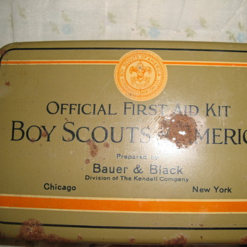 boy scout first aid kit  - Outdoor Sports