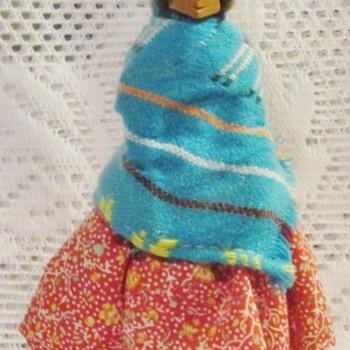 Tarahumara souvenir figurine