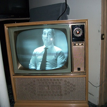 This is a General Electric tv from the late 50s  AS of now my favorite - Radios
