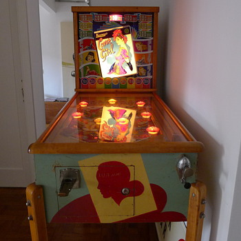 1946 cover girl pinball - Coin Operated