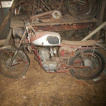 Barn find #2 unknown motorcycle SOLVED - Motorcycles