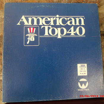 Casey Kasem's American Top 40 Radio show for week ending 8-30-1980