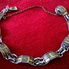 Damascene Bracelet Design Flea Market Find