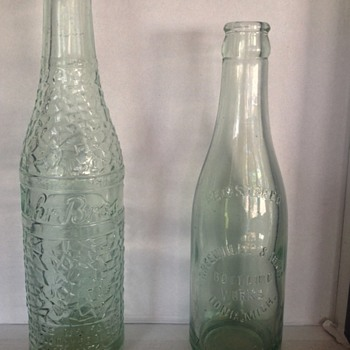Unknown bottles, need more information - Bottles