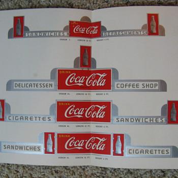 Merchandising Handbook literature - Coca-Cola