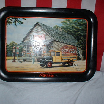 Two Coke Trays - Coca-Cola