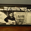 Rare Johnny Cash Promotional Poster for Lionel Trains?