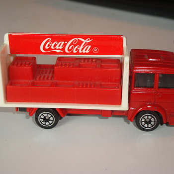 Small Corgi Coca Cola truck