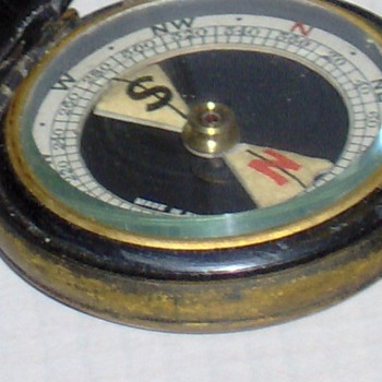Vintage Pocket Compass - Tools and Hardware