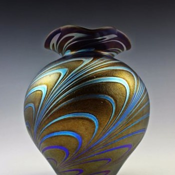 Here are a few more modern Czech vases