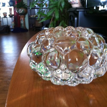 Orrefors Crystal Candle Holder