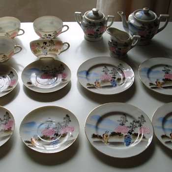 Teaset - Oriental