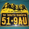 Mt. Rushmore License Plate Topper