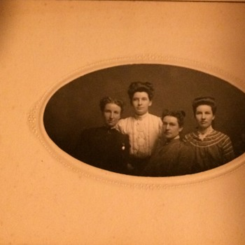 Part Six Of Photo Album Patented 1882 - Photographs