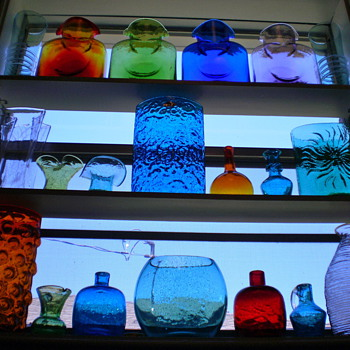 Blenko collection - Art Glass