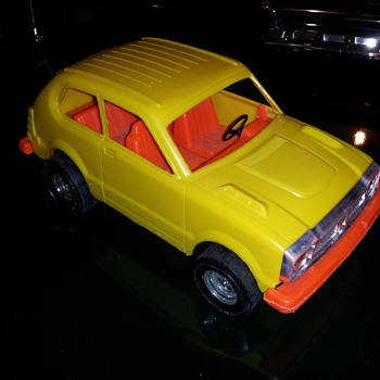 1978 Honda Civic. Plastic. Tootsietoy/ Strombecker - Model Cars